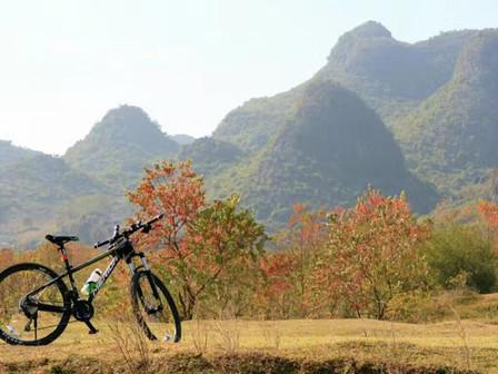 Biking Along the Li River