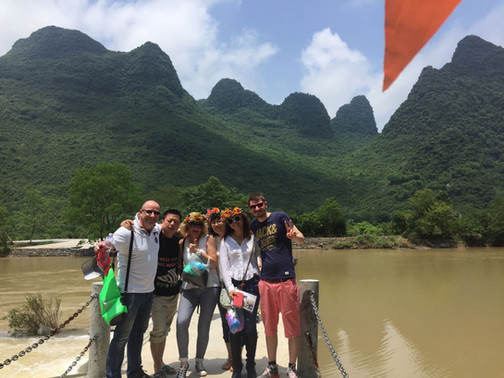 Tour Guide in China
