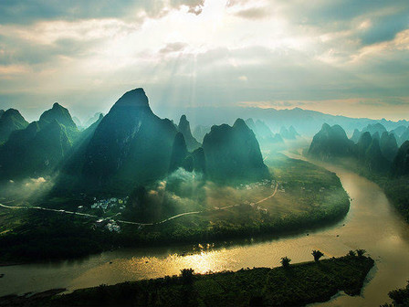An Incredible View of the River