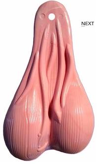 "8"" Original Nuts - Pink Bubblegum"