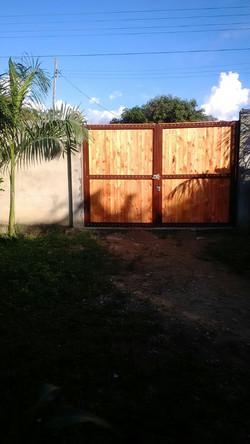 Puerta Tipo madera 2