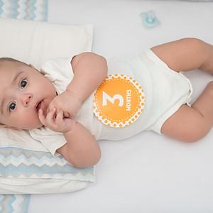 Acompanhamento de Bebê_Guilherme 3 meses