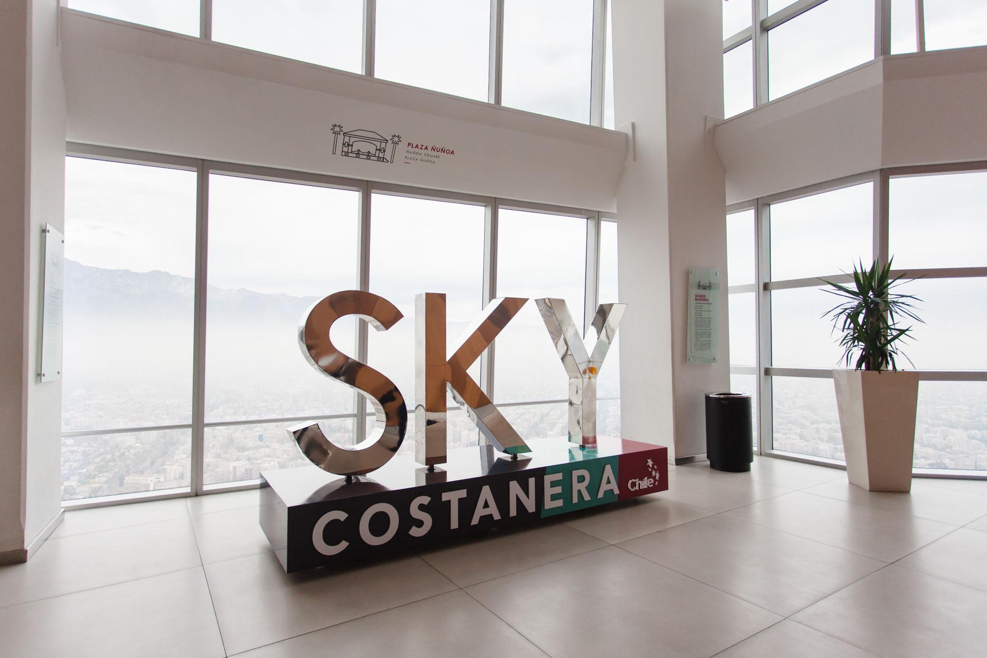 Sky Costanera, Santiago