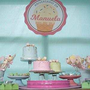 Aniversário Manu 3 anos