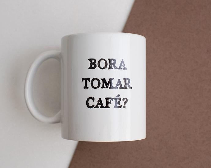 Porcelana Branca - Bora Tomar Café