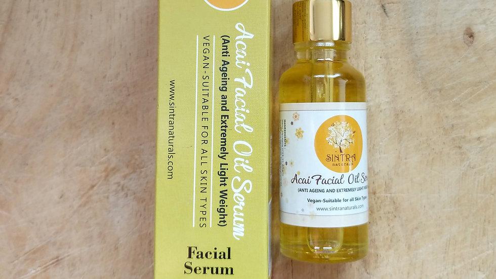 Acai facial oil serum