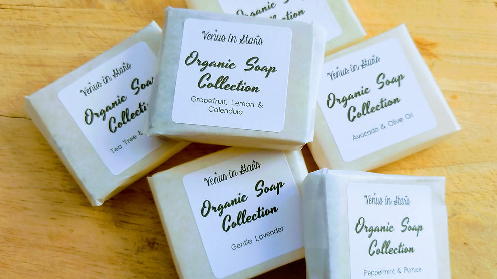 Organic Soap Collection Taster Set