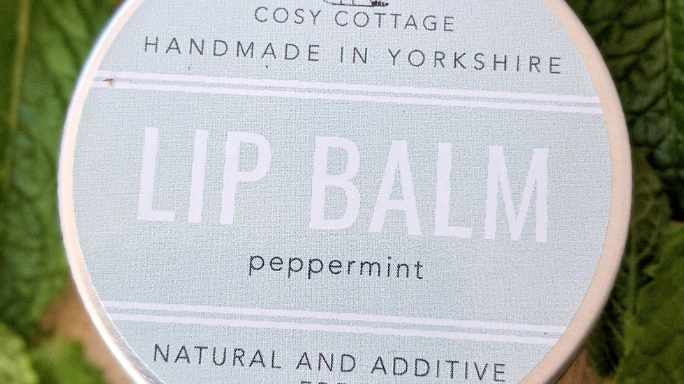 Peppermint lipbalm
