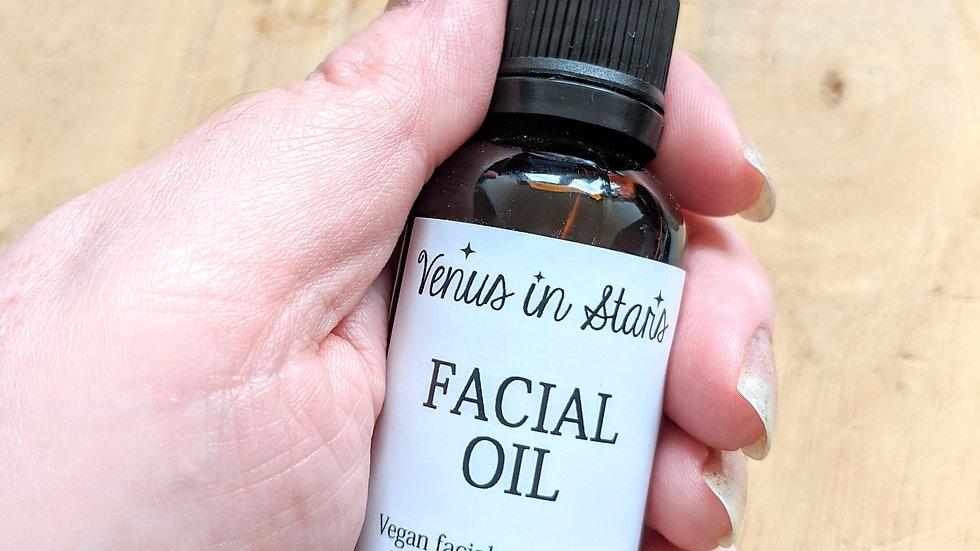 Sandalwood & Patchouli Rejuvenating Facial Oil