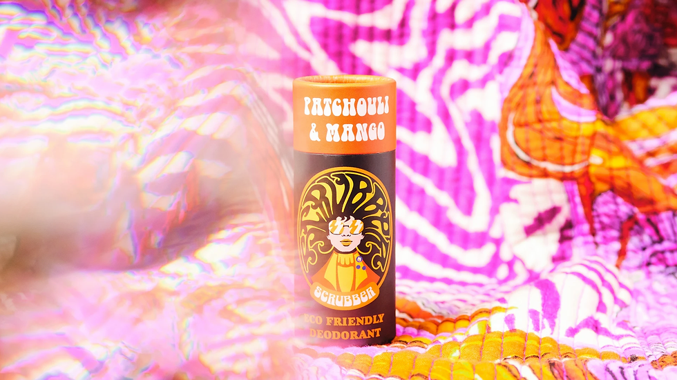 Patchouli and Mango Scrubber Deodorant