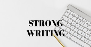 STRONG WRITING. Full-Service Copywriting for your F&B Business.