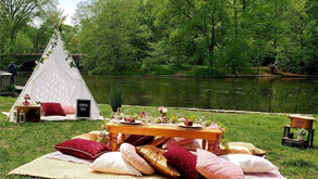 Just in Time for Summer: Gorgeous Picnics with Vibe
