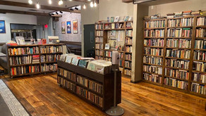 The Novel Restaurant in Brooklyn Combines Vinyl, Books, and Food