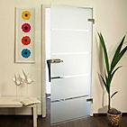 Стеклянные распашные двери SochiGlass