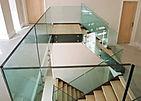 Стеклянные ограждения для лестниц SochiGlass