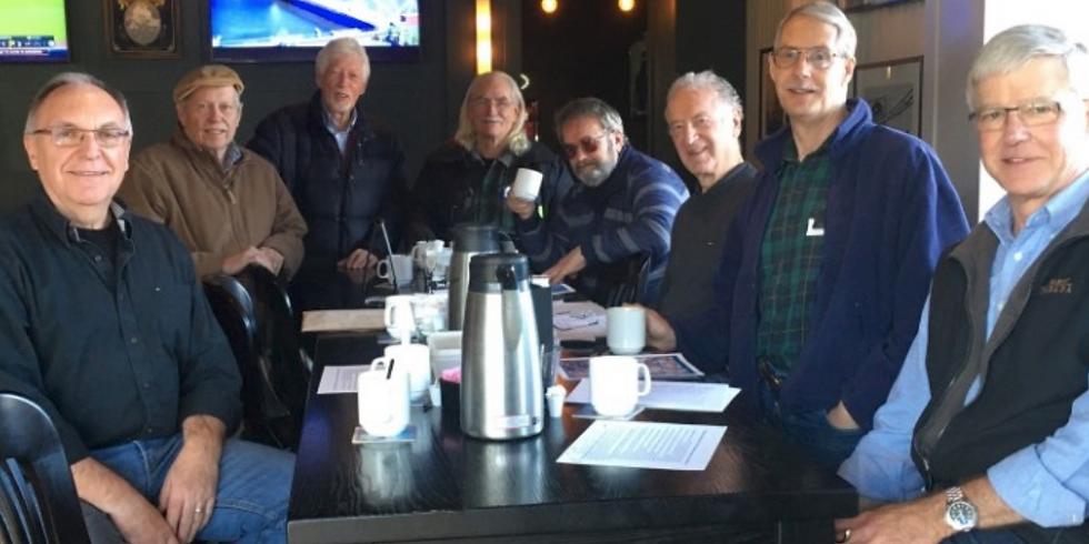 Men's Coffee Get Together April 9 - Virtual