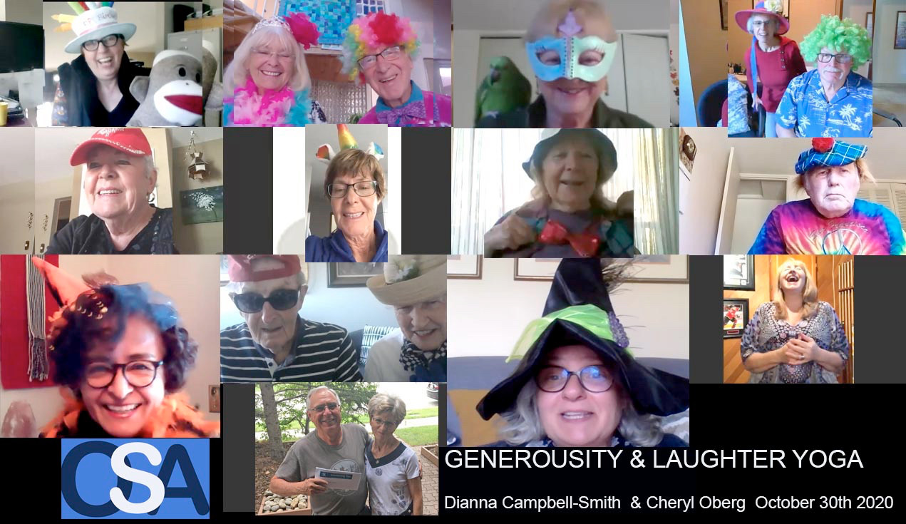 OSA Generosity & Laughter Yoga event