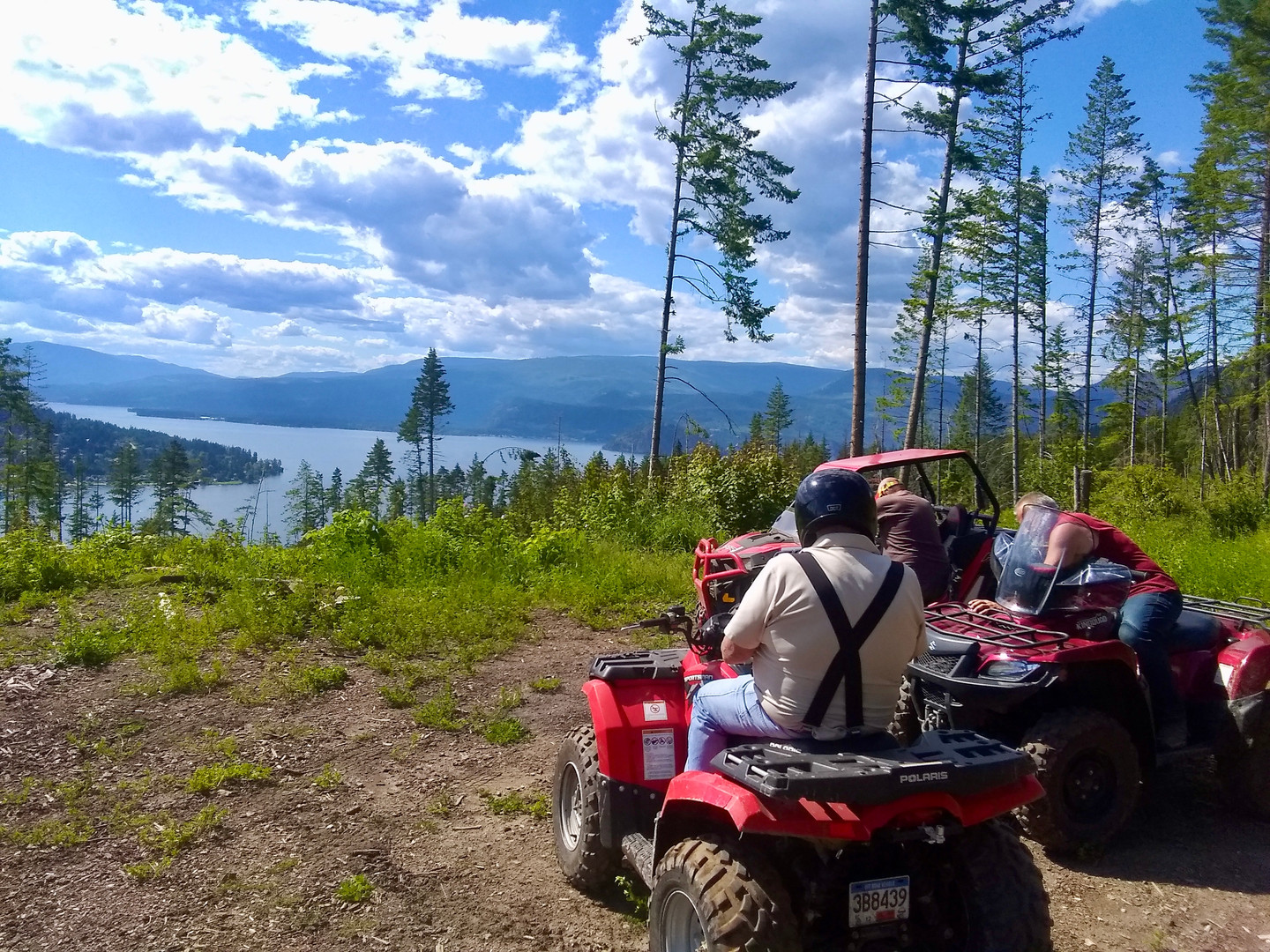 Lots of off road ATV trails