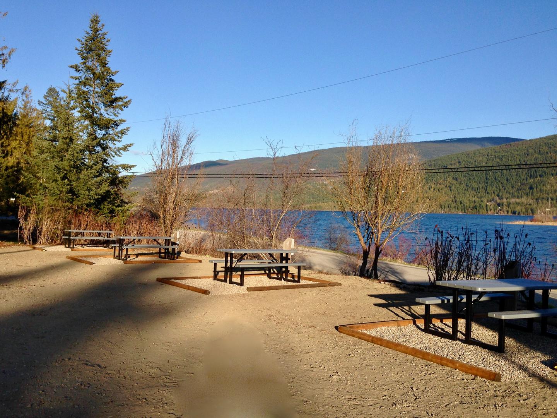Serenity RV Park with beautiful lake views