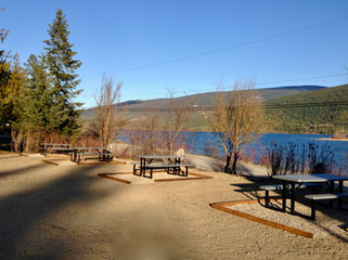 Serenity RV Park with beautiful lake views