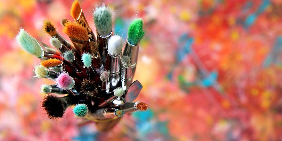 Intro to Art & Painting Virtual