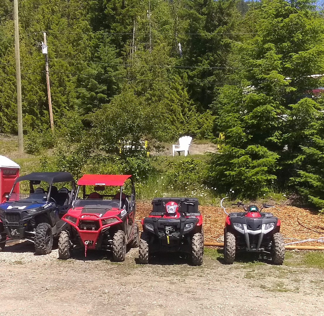 Lots of off road places to roam