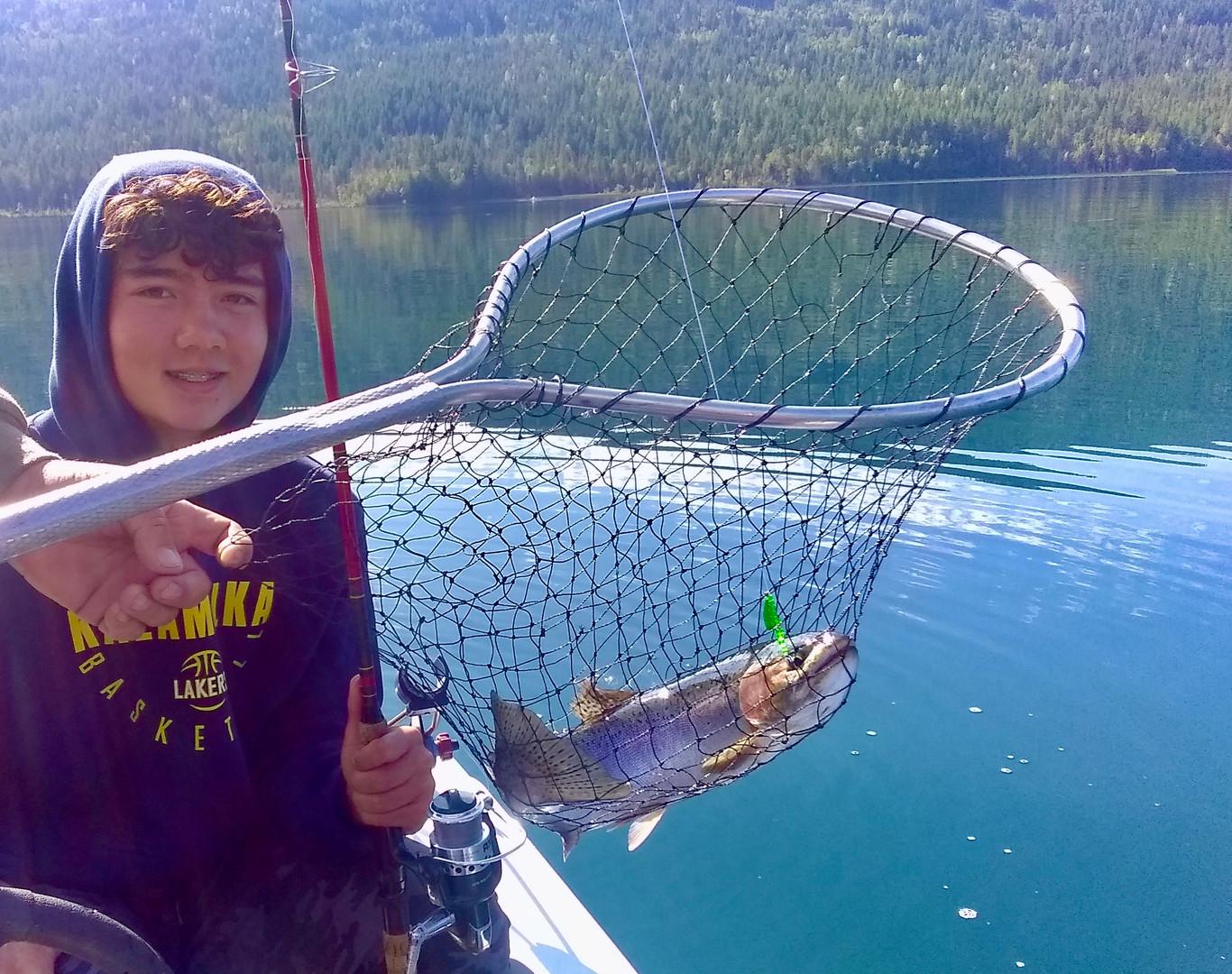 Great fishing at White Lake