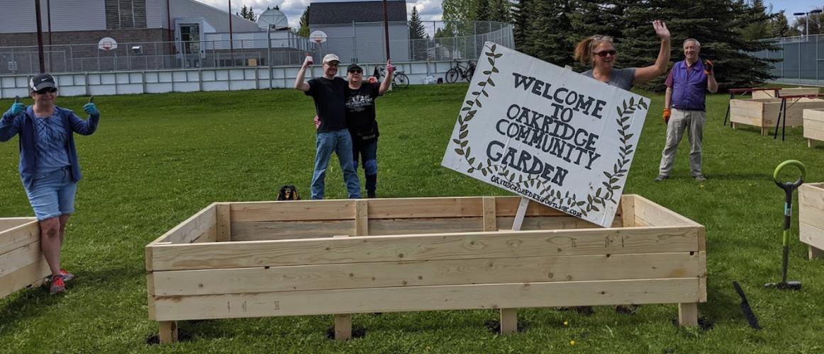 Our friends, Oakridge Community Garden