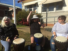 Woodstock drumming in the sun.jpg