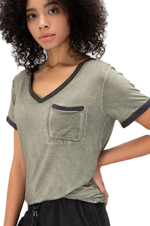 The Go-To Tee -Olive