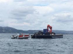floating platform 13x6 m