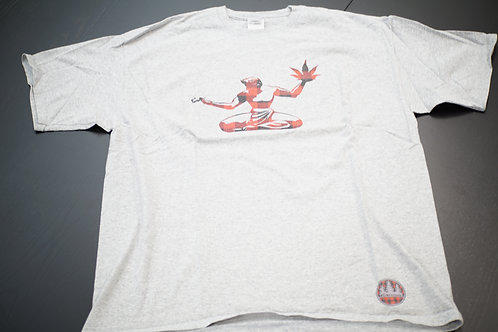 The Woods Detroit Spirit T-Shirt Dark Grey