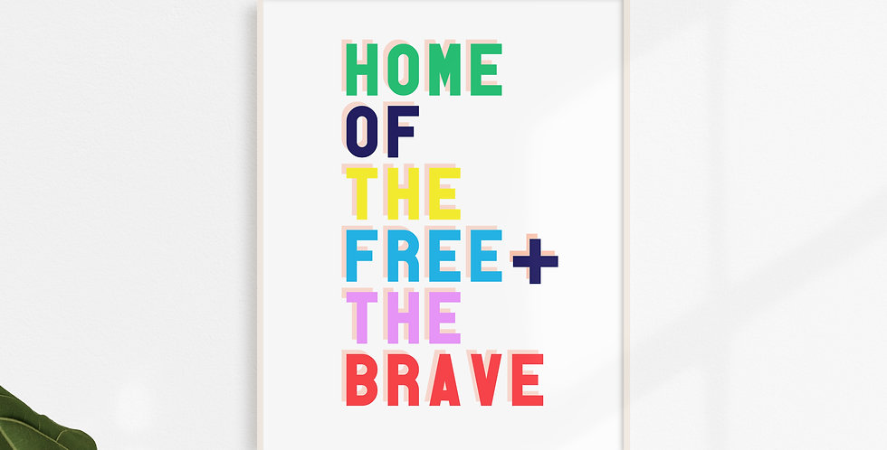 Free & the Brave