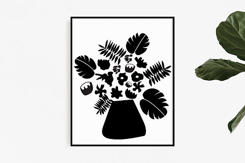 Bouquet - Black