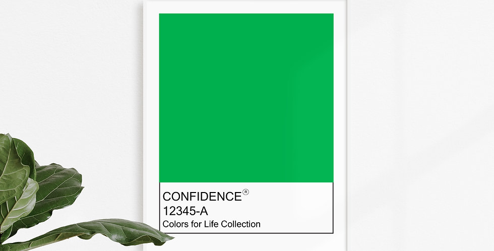 Colors for Life - Confidence