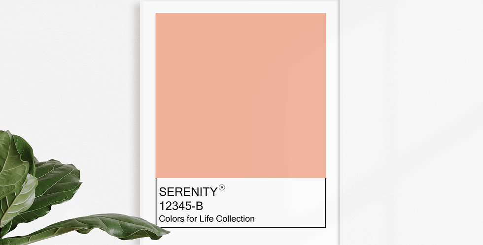 Colors for Life - Serenity