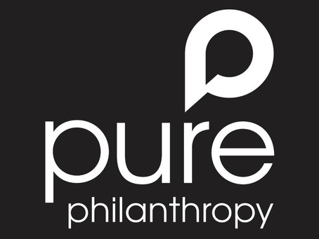 Introducing PURE PHILANTHROPY