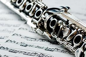 clarinette sur des notes