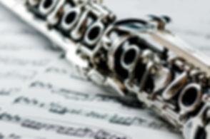 Klarinette auf Noten