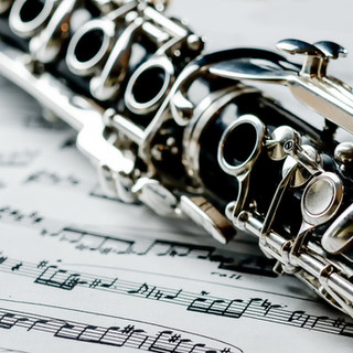 clarinet on notes