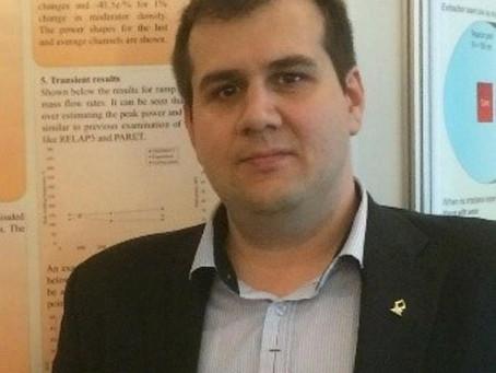 A new Ph.D. student – Marat Margulis