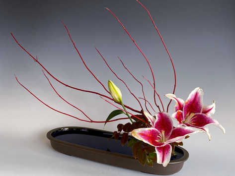 Ikebana Vases and Display Stands