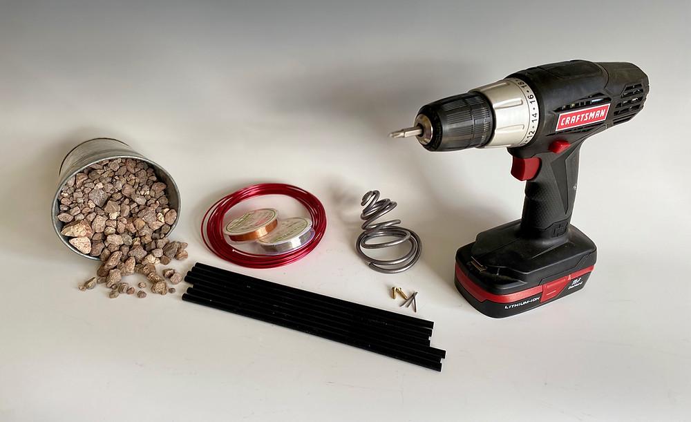 Useful tools for Japanese ikebana.