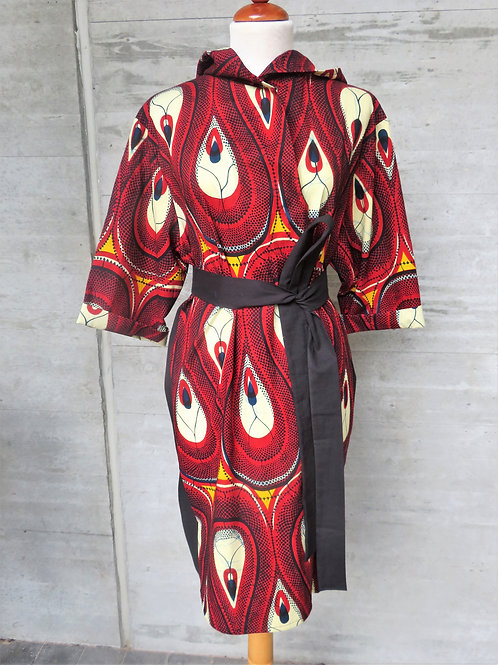 Sunday robe- Drops (short)