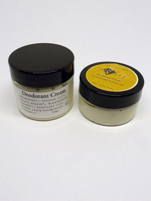 Deodorant Cream- Ylang Ylang/Sandalwoods