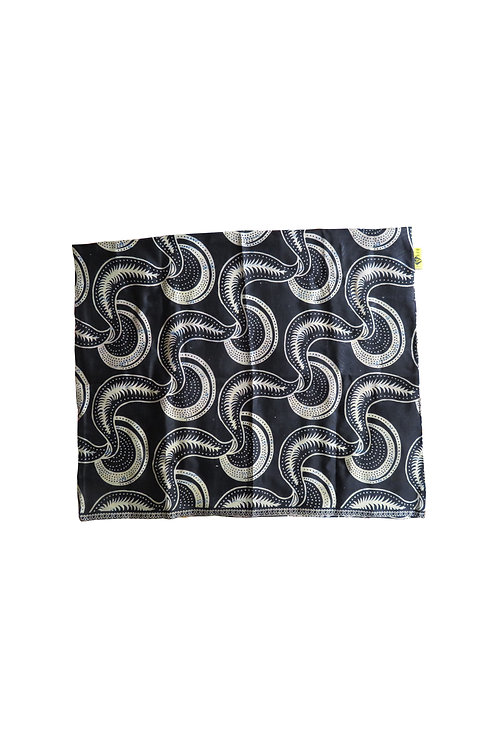Pillow case-Black bean