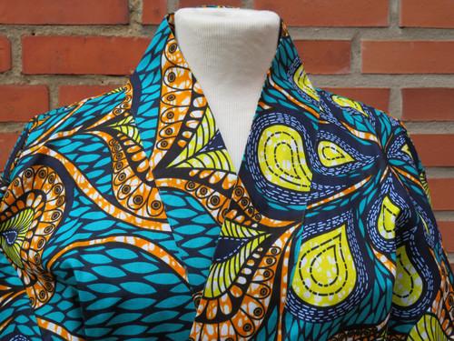 Kimono- Stella close up neckline