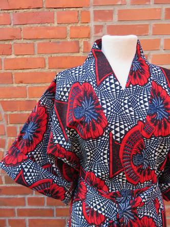 Kimono- Diana close up sleeve