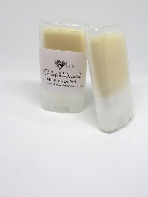 Natural Organic Deostick- Parfume free
