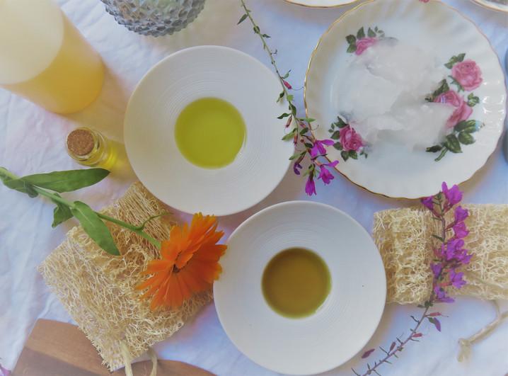 organic skincare oils